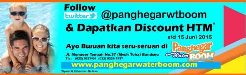 Ticket Discount Panghegar Waterboom