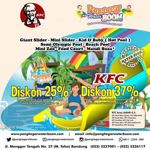 PROMO PANGHEGAR WATERBOOM - KFC